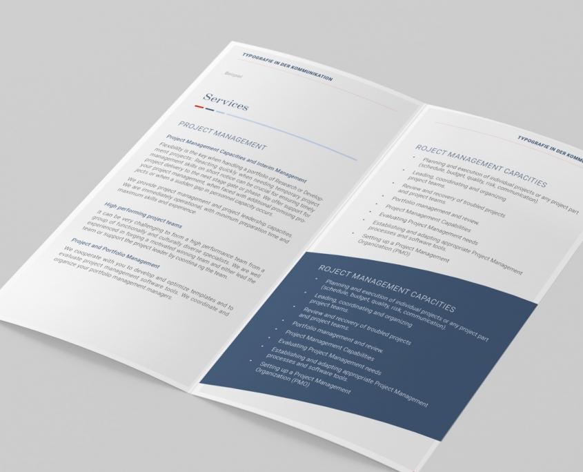 ROOS Consulting Manual Textgestaltung