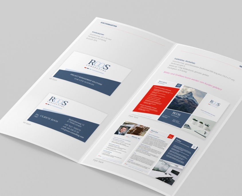 ROOS Consulting Manual Gestaltung