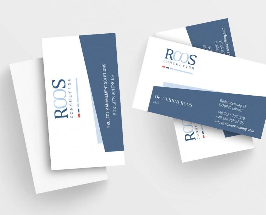 ROOS Consulting Visitenkarten