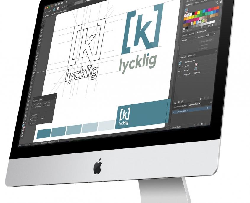 k-lycklig Logo