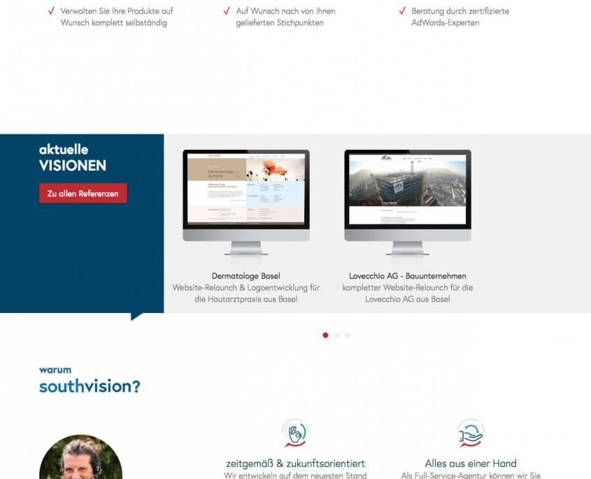 Startseite gesamt southvision