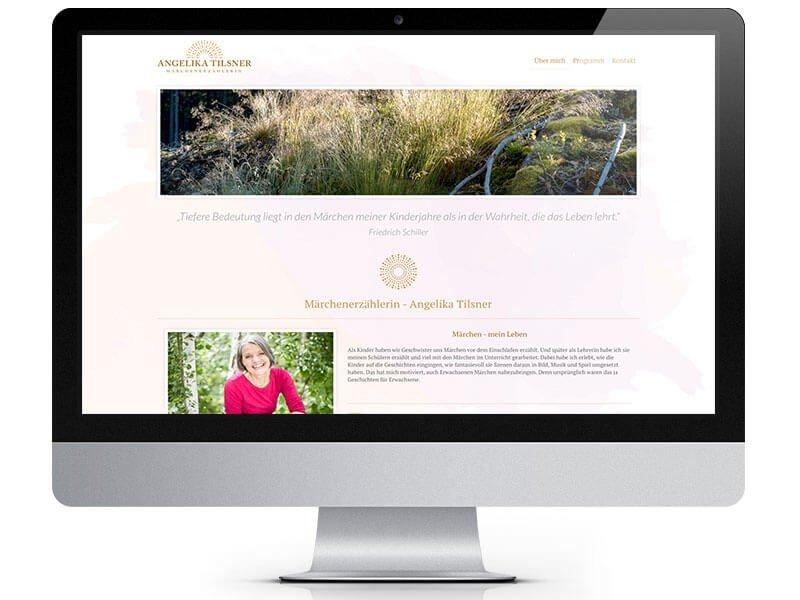 Angelika Tilsner Webseite